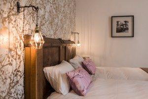 Chambre lits jumeaux séjour en bed and breakfast à St Malo