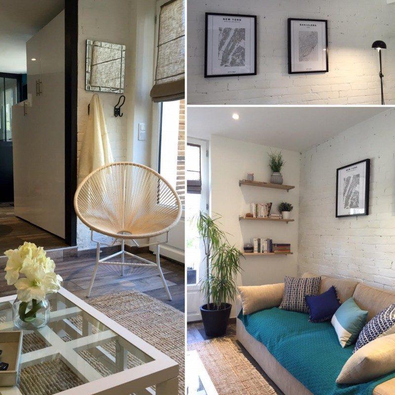 Living room loft atmosphere