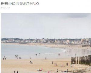 Blog Saint Malo, séjour en villa