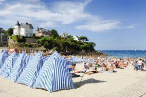 dinard, visite saint malo, plage, bord de mer vacances bretagne