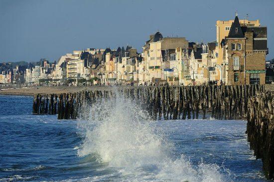 Saint-Malo, chaussée du sillon