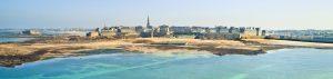 Saint Malo vue sur les remparts