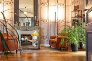 Salon d'hôtes de charme, chambre d'hote villa st raphael